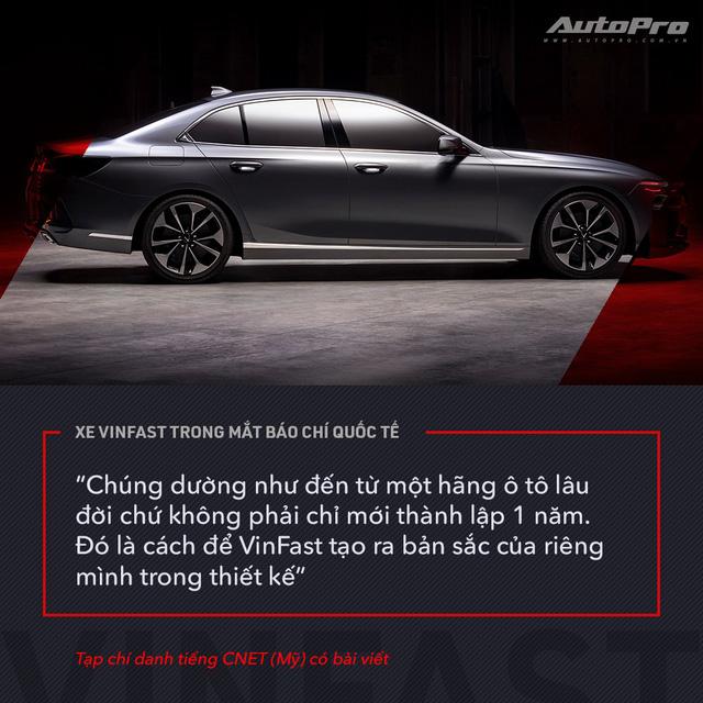 Từ Tây sang Đông, xe VinFast được giới truyền thông quốc tế mổ xẻ như thế nào? - Ảnh 9.
