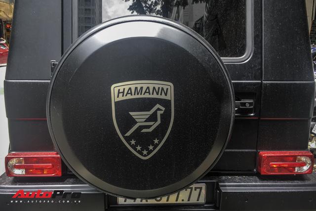 Mercedes G63 AMG đeo biển khủng 6 số 7, độ Hamann hầm hố của đại gia Bình Định - Ảnh 2.