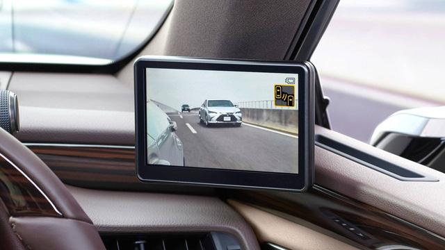 Chi tiết gương chiếu hậu điện tử trên Lexus ES sắp xuất hiện trên toàn cầu - Ảnh 5.