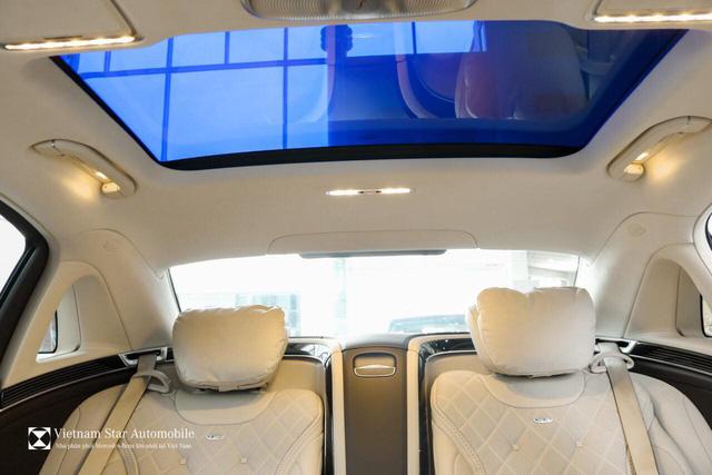 Mercedes-Maybach S 650 đầu tiên về Việt Nam, giá 14,5 tỷ đồng - Ảnh 2.