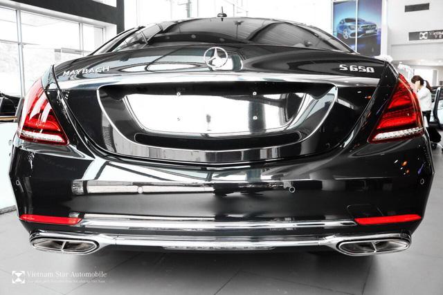 Mercedes-Maybach S 650 đầu tiên về Việt Nam, giá 14,5 tỷ đồng - Ảnh 6.
