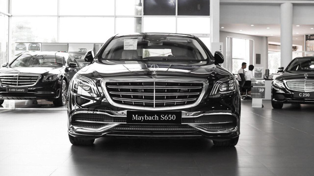 Mercedes-Maybach S 650 đầu tiên về Việt Nam, giá 14,5 tỷ đồng