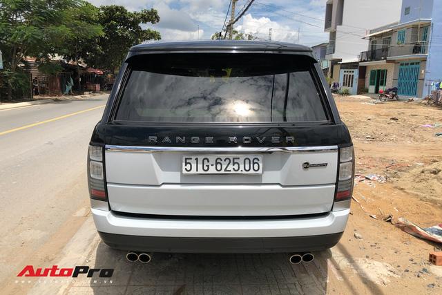 Range Rover SVAutobiography LWB hàng hiếm hai tông màu tại Sài Gòn - Ảnh 1.
