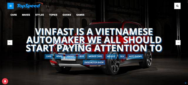 Báo Mỹ: Tất cả chúng ta nên chú ý đến VinFast và đừng ngạc nhiên khi họ tiến hoá thành hãng xe phải nhắc đến trong vài năm nữa - Ảnh 1.