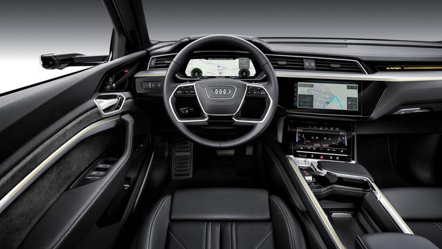 Audi E-Tron ra mắt toàn cầu tại San Francisco, khởi động giai đoạn cạnh tranh đầy khốc liệt mới - Ảnh 5.