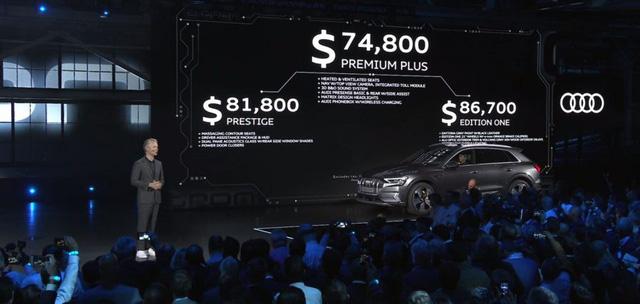 Audi E-Tron ra mắt toàn cầu tại San Francisco, khởi động giai đoạn cạnh tranh đầy khốc liệt mới - Ảnh 8.