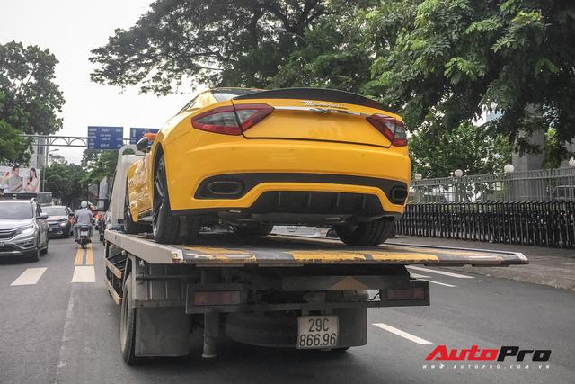 Maserati Granturismo Sport màu vàng đầu tiên Việt Nam cho đại gia mê hàng độc - Ảnh 1.