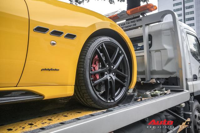 Maserati Granturismo Sport màu vàng đầu tiên Việt Nam cho đại gia mê hàng độc - Ảnh 4.