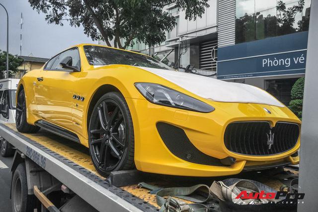 Maserati Granturismo Sport màu vàng đầu tiên Việt Nam cho đại gia mê hàng độc - Ảnh 5.
