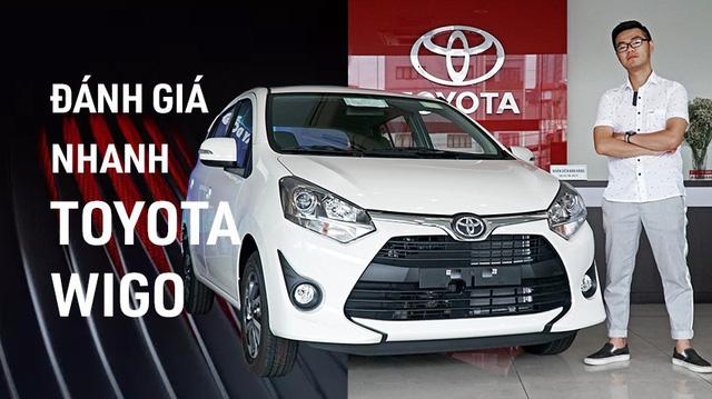 Đánh giá nhanh Toyota Wigo: Thua trang bị, thắng thương hiệu