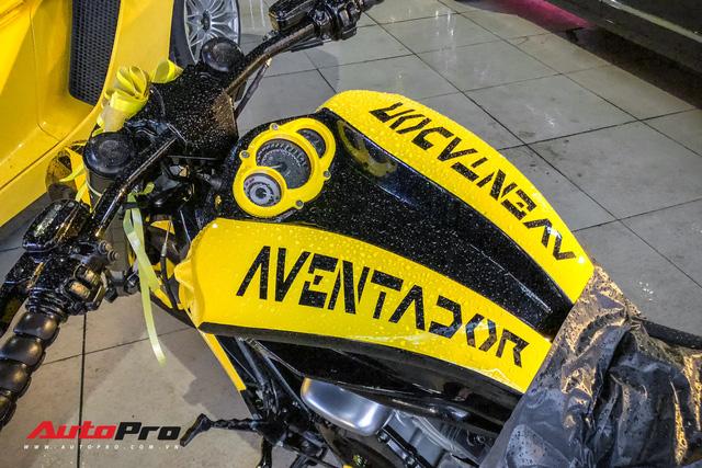 Vợ tặng mô tô khủng Harley-Davidson khoác áo Aventador cho đại gia Sài Gòn - Ảnh 3.