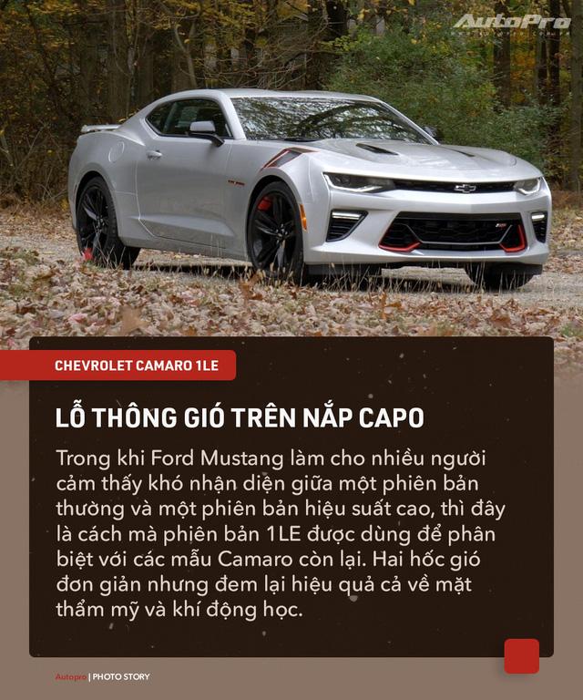 8 chi tiết nhỏ biến Chevrolet Camaro 1LE trở thành mẫu xe cơ bắp đáng mơ ước - Ảnh 1.