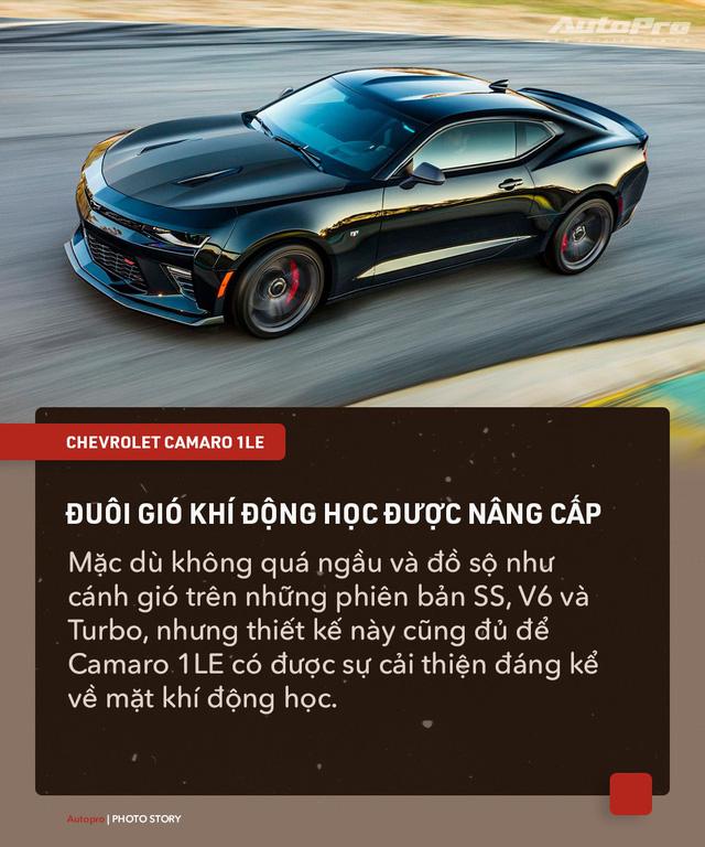 8 chi tiết nhỏ biến Chevrolet Camaro 1LE trở thành mẫu xe cơ bắp đáng mơ ước - Ảnh 2.