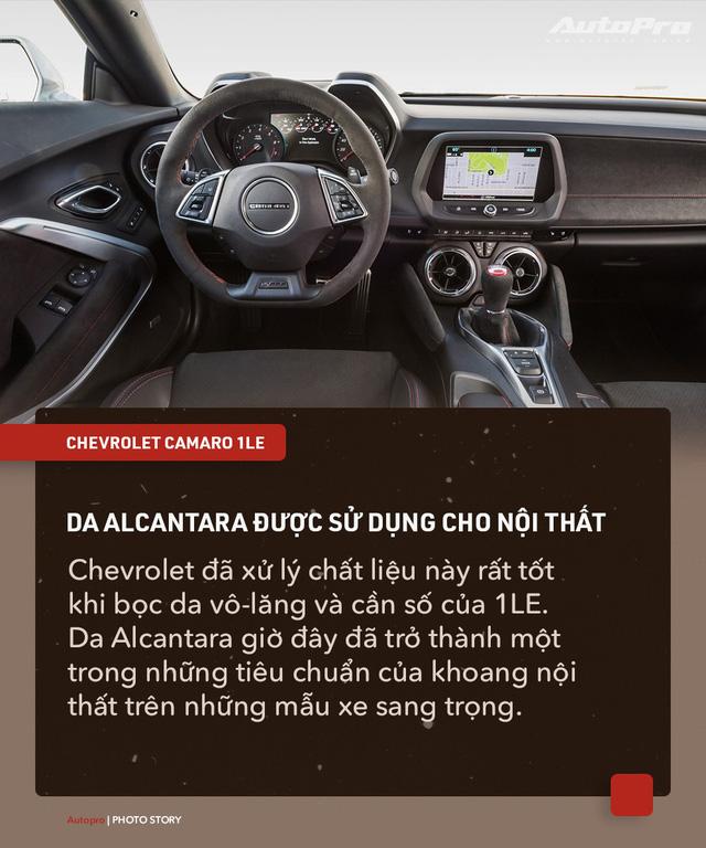 8 chi tiết nhỏ biến Chevrolet Camaro 1LE trở thành mẫu xe cơ bắp đáng mơ ước - Ảnh 3.