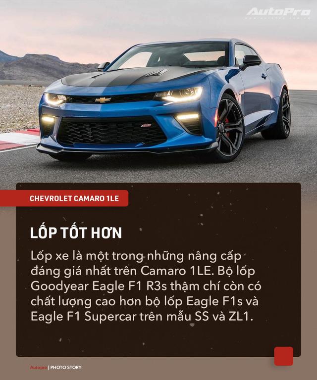 8 chi tiết nhỏ biến Chevrolet Camaro 1LE trở thành mẫu xe cơ bắp đáng mơ ước - Ảnh 7.