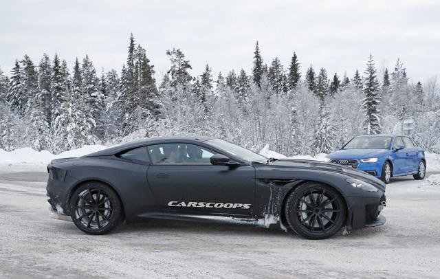 Aston Martin Vanquish 2019: Nâng cấp hiệu suất, giảm bớt sang trọng - Ảnh 3.