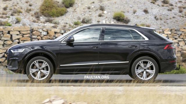 Audi Q8 bất ngờ lộ diện những hình ảnh thực tế đầu tiên - Ảnh 2.