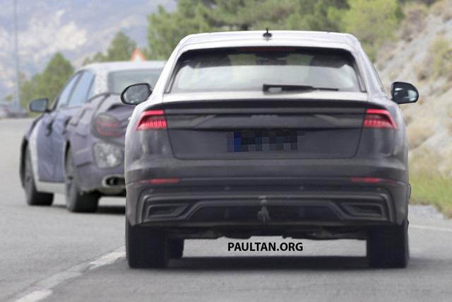 Audi Q8 bất ngờ lộ diện những hình ảnh thực tế đầu tiên - Ảnh 4.