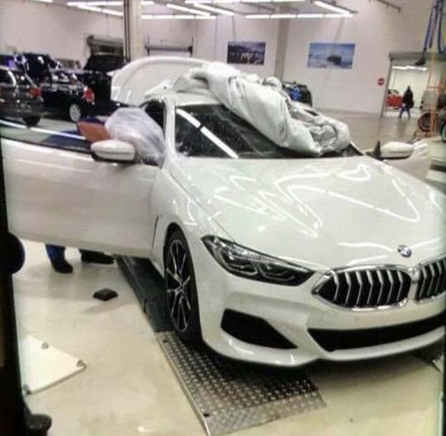 BMW 8-Series lộ hình ảnh thực tế đầu tiên - Ảnh 1.