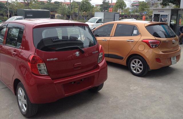 Suzuki Celerio nhập khẩu được niêm yết giá thấp hơn Kia Morning Si lắp ráp - Ảnh 1.