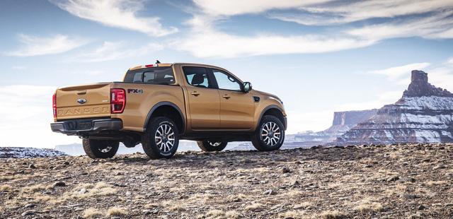 Ford Ranger mới ra mắt với động cơ EcoBoost và hộp số tự động 10 cấp - Ảnh 5.