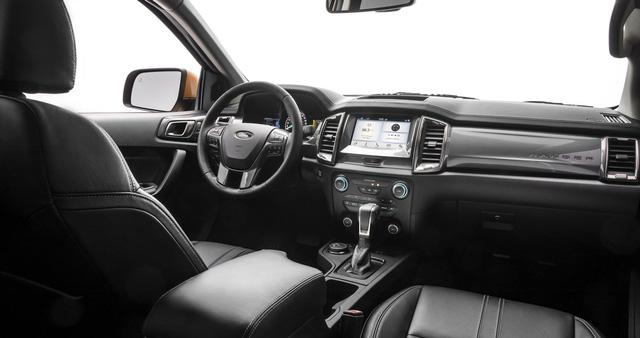 Ford Ranger mới ra mắt với động cơ EcoBoost và hộp số tự động 10 cấp - Ảnh 2.