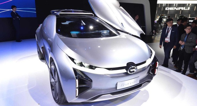 GAC Enverge - SUV điện Trung Quốc không cửa sổ, mở dạng cánh chim - Ảnh 1.