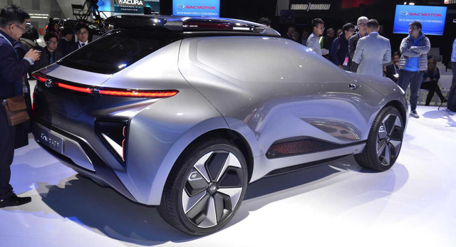 GAC Enverge - SUV điện Trung Quốc không cửa sổ, mở dạng cánh chim - Ảnh 2.