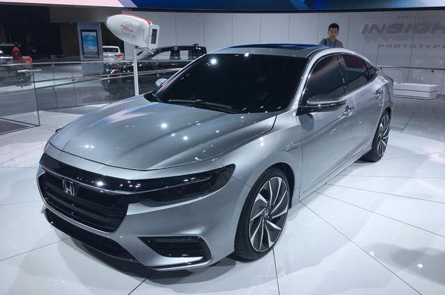 Honda Insight 2019 ra mắt, tham vọng lật đổ Toyota Prius - Ảnh 2.