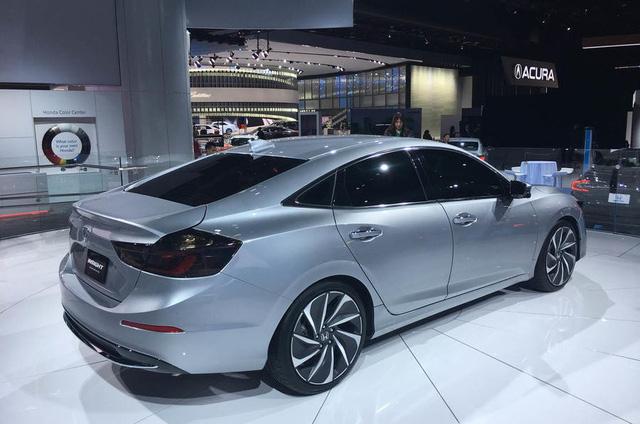 Honda Insight 2019 ra mắt, tham vọng lật đổ Toyota Prius - Ảnh 3.