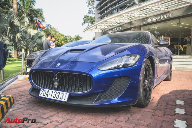 Maserati GranTurismo MC Stradale từng của Minh Nhựa xuất hiện tại Sài Gòn - Ảnh 14.