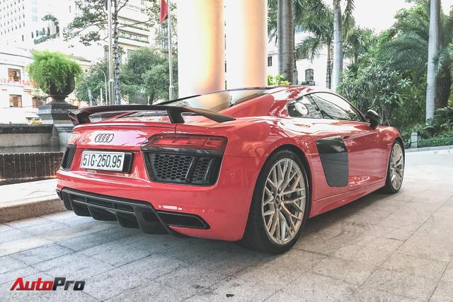 Audi R8 V10 Plus từng của Đông Nhi và Ông Cao Thắng tái xuất trên phố - Ảnh 4.