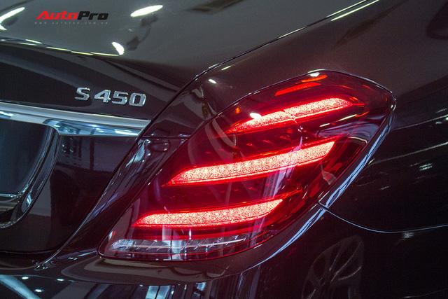 Cận cảnh Mercedes-Maybach S450 2018 - Sedan siêu sang giá 7,219 tỷ đồng - Ảnh 15.