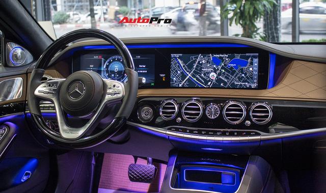 Cận cảnh Mercedes-Maybach S450 2018 - Sedan siêu sang giá 7,219 tỷ đồng - Ảnh 22.