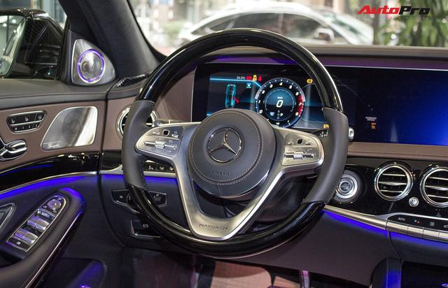 Cận cảnh Mercedes-Maybach S450 2018 - Sedan siêu sang giá 7,219 tỷ đồng - Ảnh 16.