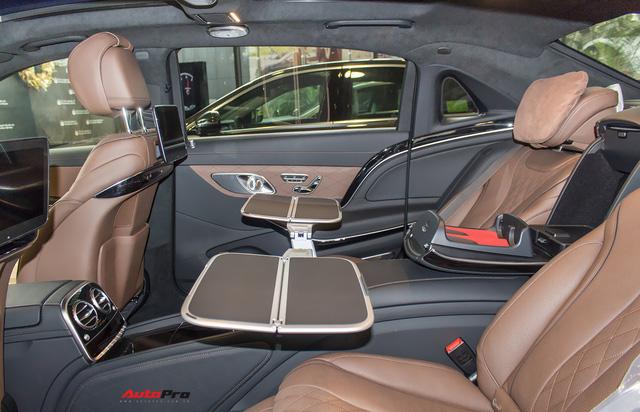 Cận cảnh Mercedes-Maybach S450 2018 - Sedan siêu sang giá 7,219 tỷ đồng - Ảnh 8.