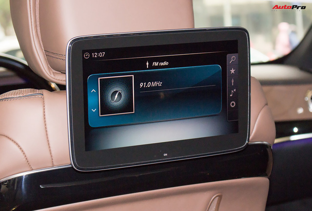 Cận cảnh Mercedes-Maybach S450 2018 - Sedan siêu sang giá 7,219 tỷ đồng - Ảnh 28.