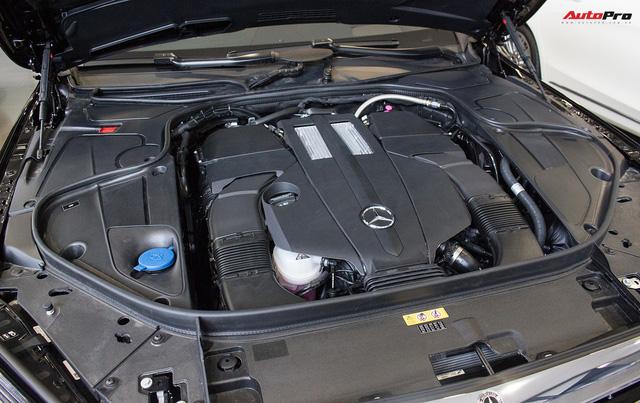 Cận cảnh Mercedes-Maybach S450 2018 - Sedan siêu sang giá 7,219 tỷ đồng - Ảnh 2.