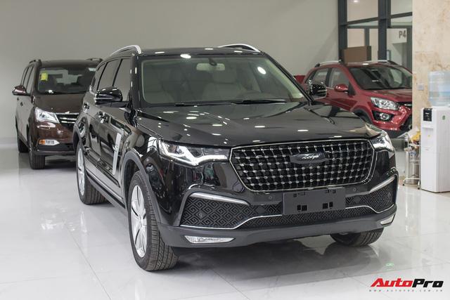 Zotye Z8 2.0 Turbo - SUV 5 chỗ Trung Quốc giá bằng một nửa Honda CR-V 2018 - Ảnh 1.