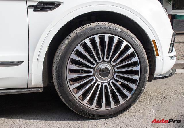 Siêu SUV Bentley Bentayga độ mâm Mansory 22 inch độc nhất Việt Nam - Ảnh 2.
