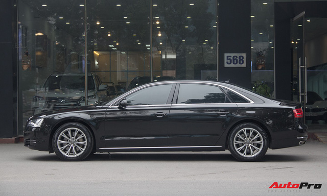 Audi A8L lăn bánh hơn 48.000km bán lại giá 2,85 tỷ đồng tại Hà Nội - Ảnh 2.