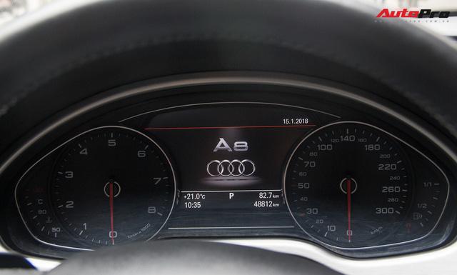 Audi A8L lăn bánh hơn 48.000km bán lại giá 2,85 tỷ đồng tại Hà Nội - Ảnh 14.