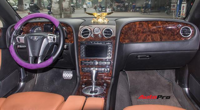 Bentley Continental Flying Spur Speed đi 10 năm bán lại chỉ 2,85 tỷ đồng - Ảnh 6.