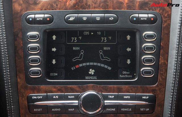Bentley Continental Flying Spur Speed đi 10 năm bán lại chỉ 2,85 tỷ đồng - Ảnh 15.