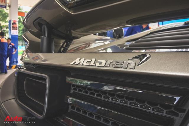 McLaren 650S Spider MSO độc nhất Việt Nam tái xuất trên đường phố - Ảnh 3.