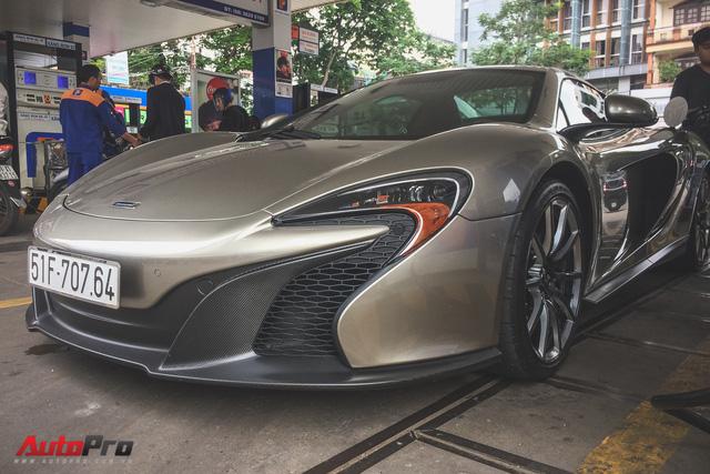 McLaren 650S Spider MSO độc nhất Việt Nam tái xuất trên đường phố - Ảnh 7.