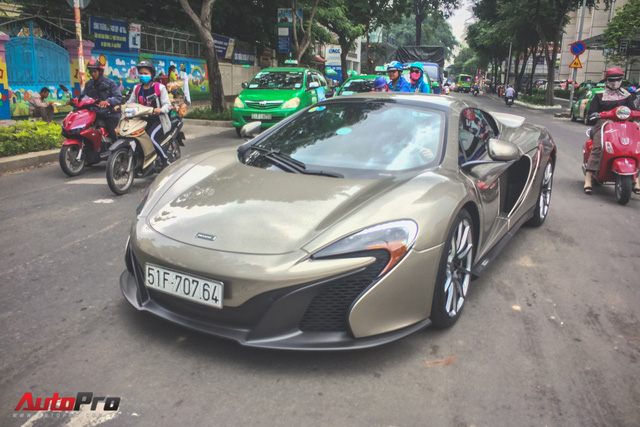 McLaren 650S Spider MSO độc nhất Việt Nam tái xuất trên đường phố - Ảnh 10.