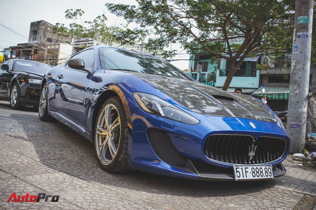 Maserati GranTurismo MC Stradale từng của Minh Nhựa xuất hiện tại Sài Gòn - Ảnh 2.
