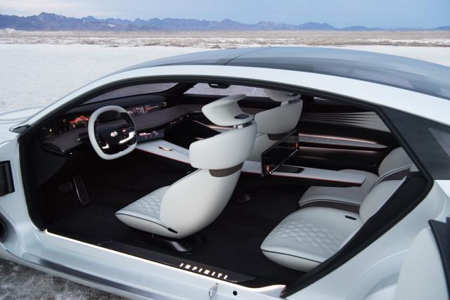 Q Inspiration Concept - tương lai của sedan Infiniti hạng sang - Ảnh 3.