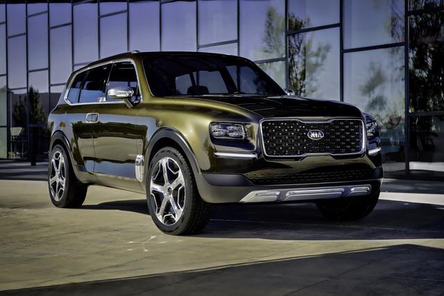 Kia sắp sản xuất SUV đàn anh của Sorento mang tên Telluride - Ảnh 1.
